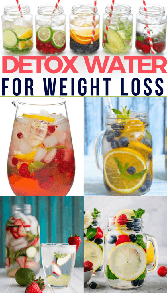 does detox water help in weight loss